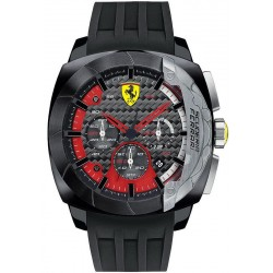 Buy Men's Scuderia Ferrari Watch Aerodinamico Chrono 0830205