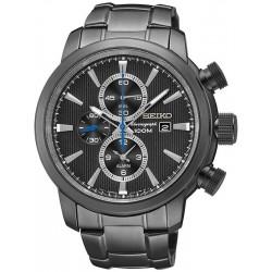Men's Seiko Watch Neo Sport Alarm Chronograph Quartz SNAF49P1