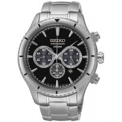 Buy Men's Seiko Watch Neo Sport SRW035P1 Chronograph Quartz
