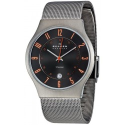 Buy Men's Skagen Watch Grenen Titanium 233XLTTMO