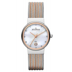 Women's Skagen Watch Ancher 355SSRS Mother of Pearl