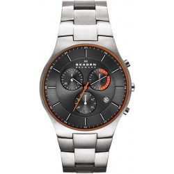 Buy Men's Skagen Watch Balder Titanium SKW6076 Chronograph