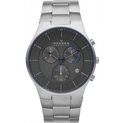 Buy Men's Skagen Watch Balder Titanium SKW6077 Chronograph