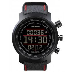 Buy Suunto Elementum Terra Black/Red Leather Men's Watch SS019171000