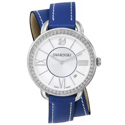 Buy Women's Swarovski Watch Aila Day Double Tour Blue 5095944