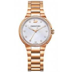 Buy Women's Swarovski Watch City Mini Rose Gold Tone 5221176 Mother of Pearl