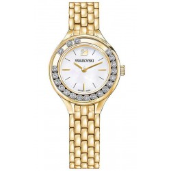 Women's Swarovski Watch Lovely Crystals Mini 5242895 Mother of Pearl
