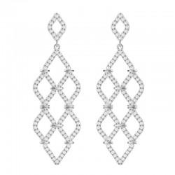 Buy Women's Swarovski Earrings Chandelier Lace 5382358