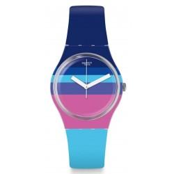 Buy Women's Swatch Watch Gent Azul'Heure GE260