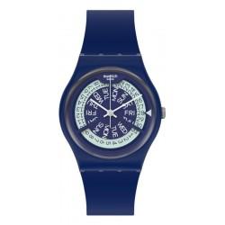 Unisex Swatch Watch Gent N-Igma Navy GN727