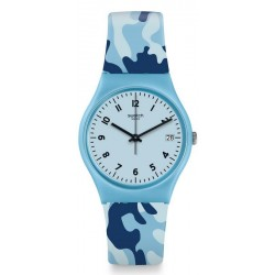 Buy Womens Swatch Watch Gent Camoublue GS402
