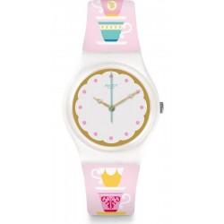 Buy Women's Swatch Watch Gent High Tea GW191