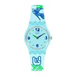Women's Swatch Watch Lady #Greentouche LN157