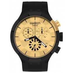 Swatch Watch Big Bold Chrono Checkpoint Golden SB02Z400