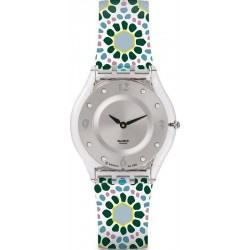 Women's Swatch Watch Skin Classic Botanical Bomb SFK327