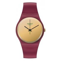 Women's Swatch Watch Gent Goldenshijian SO28R102