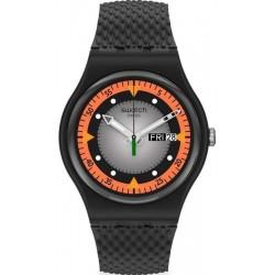 Men's Swatch Watch New Gent Gray Blend SO29B701
