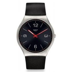Buy Mens Swatch Watch Skin Irony Skinblack SS07S100