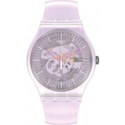 Women's Swatch Watch New Gent Pink Mist SUOK155