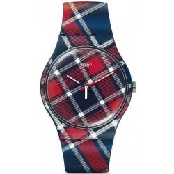 Unisex Swatch Watch New Gent Color-Kilt SUON109