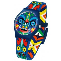 Buy Unisex Swatch Mika Watch New Gent Kukulakuku SUOZ171