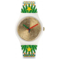 Buy Unisex Swatch Mika Watch New Gent Mumu-Cucurrucucu SUOZ210