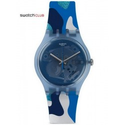 Buy Unisex Swatch Club Watch New Gent Silverscape SUOZ215