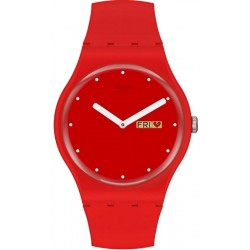 Women's Swatch Watch New Gent P(E/A)NSE-MOI SUOZ718