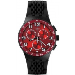 Buy Men's Swatch Watch Chrono Plastic Testa di Toro SUSB101 Chronograph