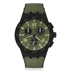 Buy Mens Swatch Watch Chrono Plastic Dark Forest SUSB105