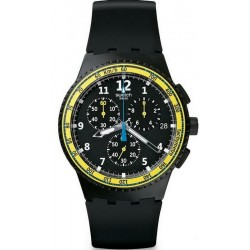 Buy Men's Swatch Watch Chrono Plastic Sifnos SUSB404 Chronograph