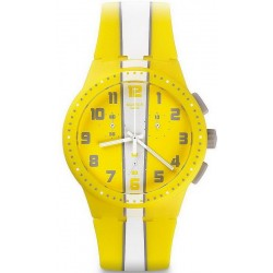 Buy Unisex Swatch Watch Chrono Plastic Amorgos SUSJ100 Chronograph