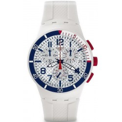 Buy Unisex Swatch Watch Chrono Plastic Speed Up SUSM401 Chronograph