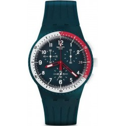 Buy Men's Swatch Watch Chrono Plastic El Comandante SUSN405 Chronograph