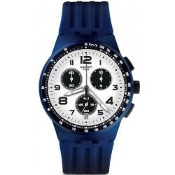 Buy Men's Swatch Watch Chrono Plastic Travel Choc SUSN408 Chronograph