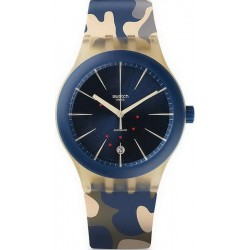 Buy Unisex Swatch Watch Sistem51 Sistem Incognito SUTT400 Camouflage Automatic