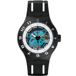 Men's Swatch Watch Scuba Libre Feel The Sea SUUB101