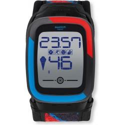 Men's Swatch Watch Digital Touch Zero One Funkzero SUVB101