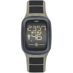 Buy Men's Swatch Watch Digital Touch Zero One Earthzero SUVT100