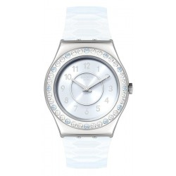 Women's Swatch Watch Irony Medium Precious Aqua YLS226