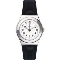 Women's Swatch Watch Irony Medium Licorice YLS453