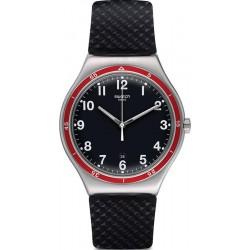 Buy Men's Swatch Watch Irony Big Classic Red Wheel YWS417