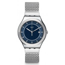 Buy Men's Swatch Watch Irony Big Classic Blue Icone YWS449M
