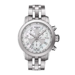 Women's Tissot Watch PRC 200 Chronograph T0552171111300 Mother of Pearl