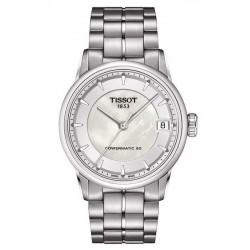 Buy Women's Tissot Watch Luxury Powermatic 80 T0862071111100 Mother of Pearl