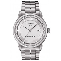 Men's Tissot Watch T-Classic Luxury Powermatic 80 T0864071103100