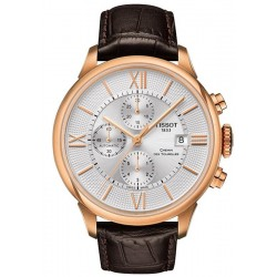 Buy Men's Tissot Watch Chemin Des Tourelles Automatic Chronograph T0994273603800